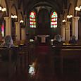 神の島教会ミサ