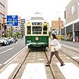 長崎路面電車道