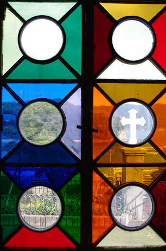 神の島教会十字架