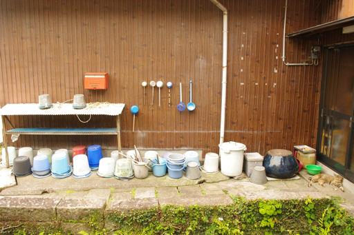 井戸のバケツ
