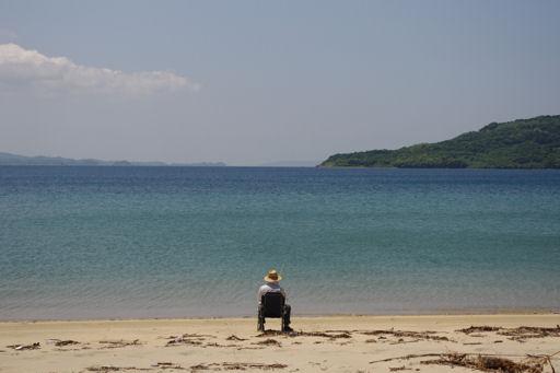千里ヶ浜海水浴場