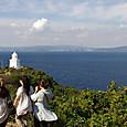 秋の伊王島灯台