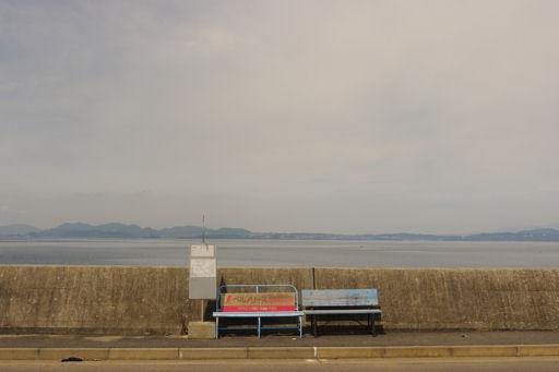 島原半島のバス停