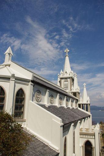 天高く馬込教会