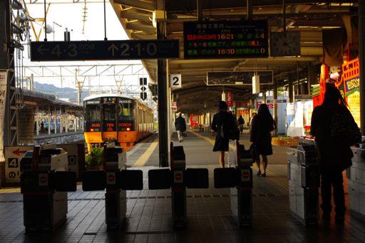 長崎駅改札