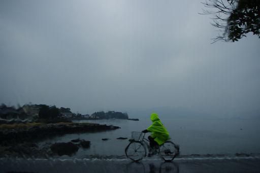 大村湾自転車