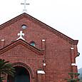 黒崎教会の煉瓦