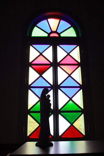 黒崎教会ステンドグラス