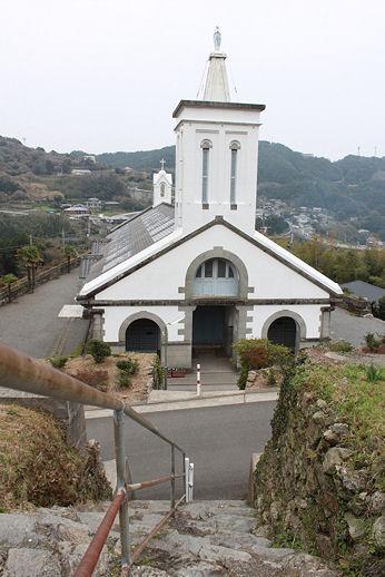 出津教会階段