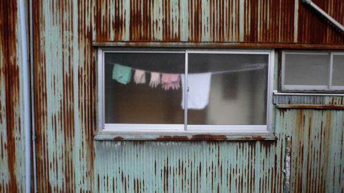 花冷えの窓