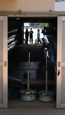 ボート部の部室